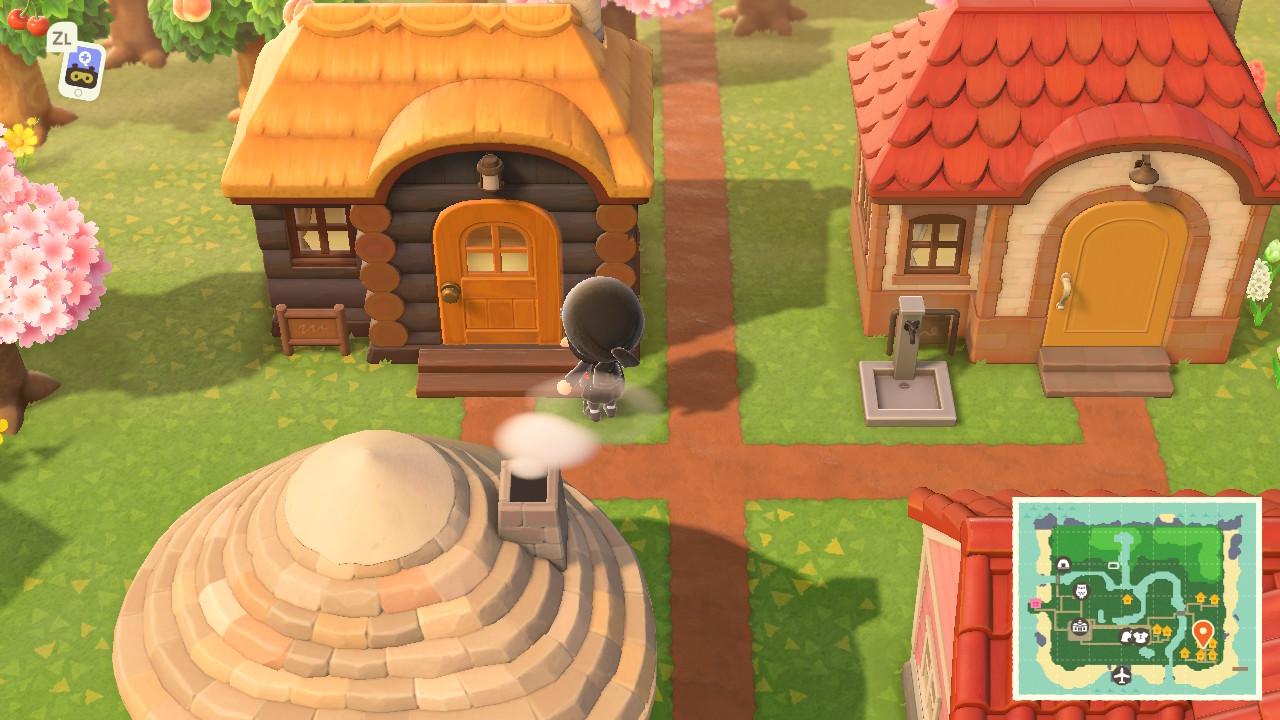 あつ森 住人の家 サイズ